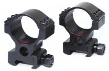 Tactical 30mm High Rifle Weaver Mount Ring fit 30mm Red Dot Scopes Sights Laser and Flashlight