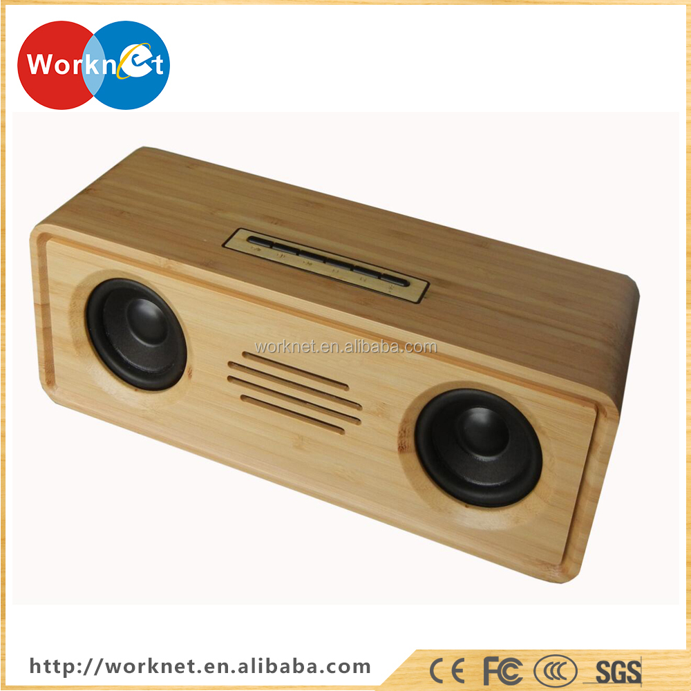 factory in China supply bluetooth bamboo speaker for port to MP3,MP4,MP5,IPAD,computer,laptop and mobile phone