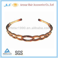 Wholesale fancy hair accessories/plastic girl headband 4089
