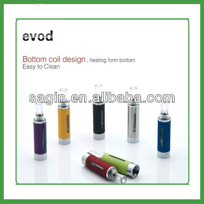 newest style rainbow smoke cigarette e-cig MT3 atomizer e cigarette mod