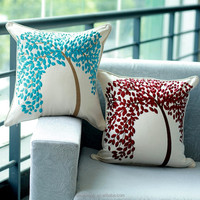 Embroidery Decorative Sofa Cushion Cover classic cotton material Pillow Boster Case Brand Free shipping