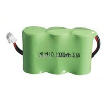 Ni-mh D 10000mAh 3.6V Ni-mh rechargeable battery pack