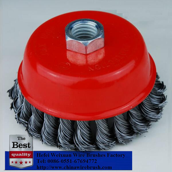 Your best choose Angle Grinder Wire Brush Cup Wheel for cleaning spot welds