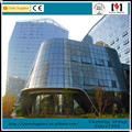 2017 Low-E coating or clear tempered AS2047 certificate glass wall