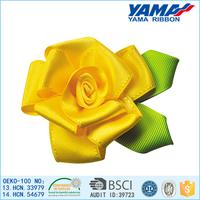2015 hottest decorative ribbon artificial distributor flower