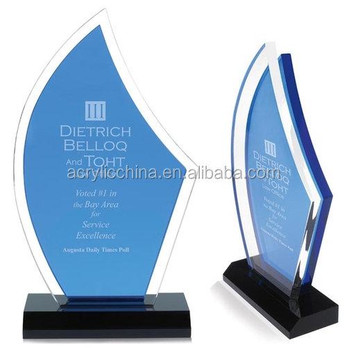 wholesale acrylic trophy and award design