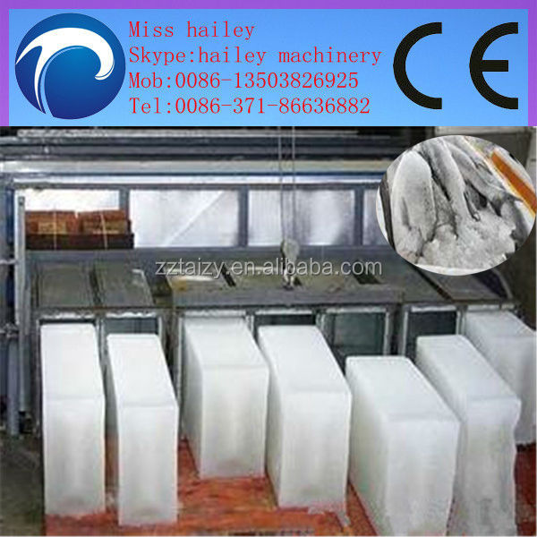 high efficiency and factory price ice brick machine for freshen fish