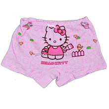 Wholesale Good Quality Cute Cartoon Baby Underwear For Baby Girls