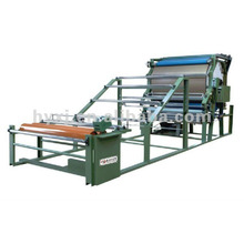 Fabric and foam laminating machine for shoe making