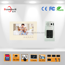 Bcomtech 7inch 4 wired video door phone most popular model in russia market