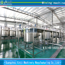 Vacuum emulsifying homogenizer mixing equipment plant for cosmetic and food