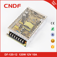 led lighting power supply 110-240v DC 12 /24V Universal Regulated 120w Switching Power Supply smps