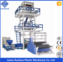 full auto plastic film extrusion blow moulding machine plastic bags machinery