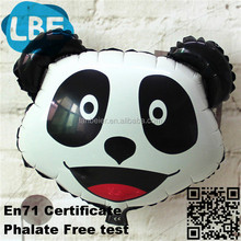 funny foil child toy balloon panda shaped animal globo