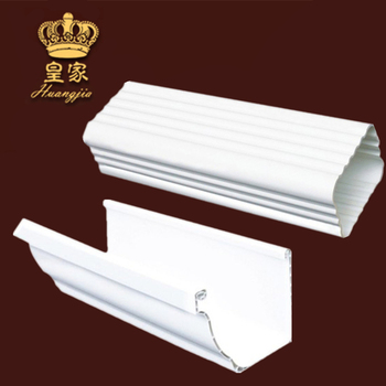 Building construction material PVC Rain Water Gutters
