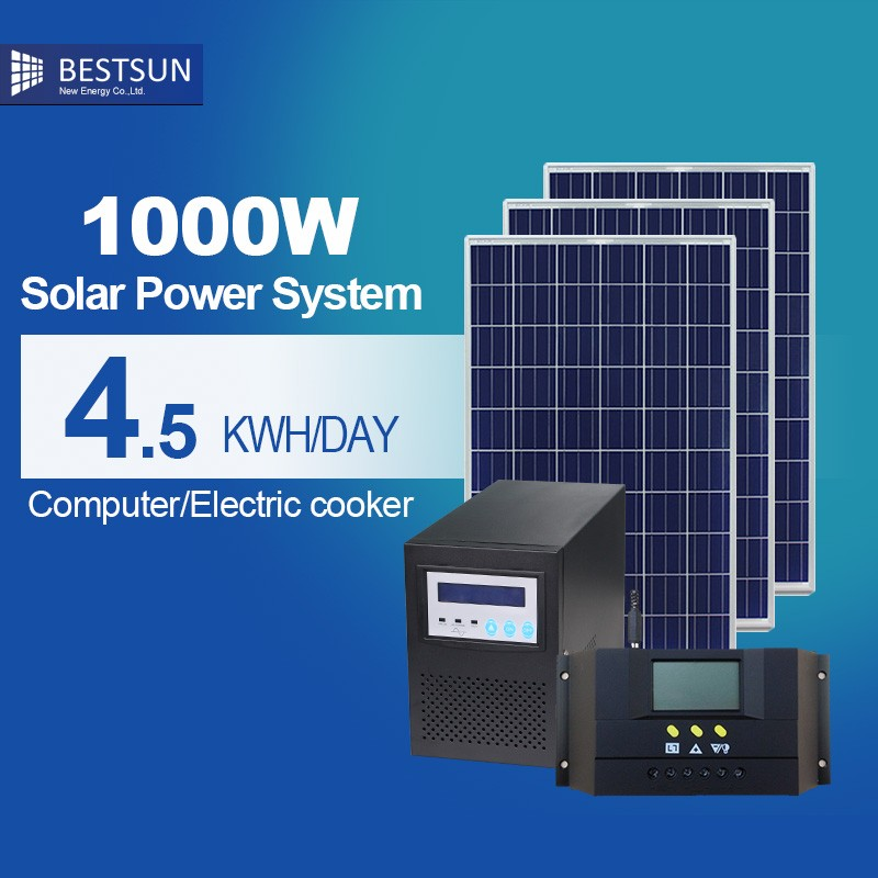Factory Price Professional <strong>manufacturer</strong> <strong>1000</strong> W solar power system