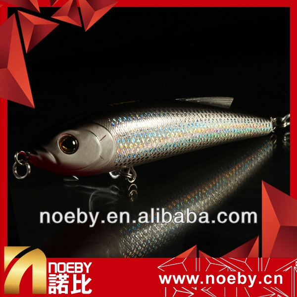 NOEBY pencil lure 140mm 66g fishing lures plastic shrimp