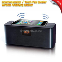 portable wireless amplifying induction mini speaker