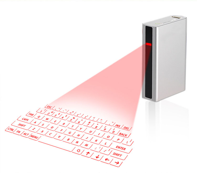 Mini Portable F3 Virtual Laser Projection Keyboard and mouse Wireless Speaker for Smartphone and Tablets