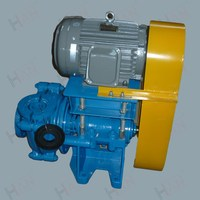 single stage small slurry pump with rubber spare parts