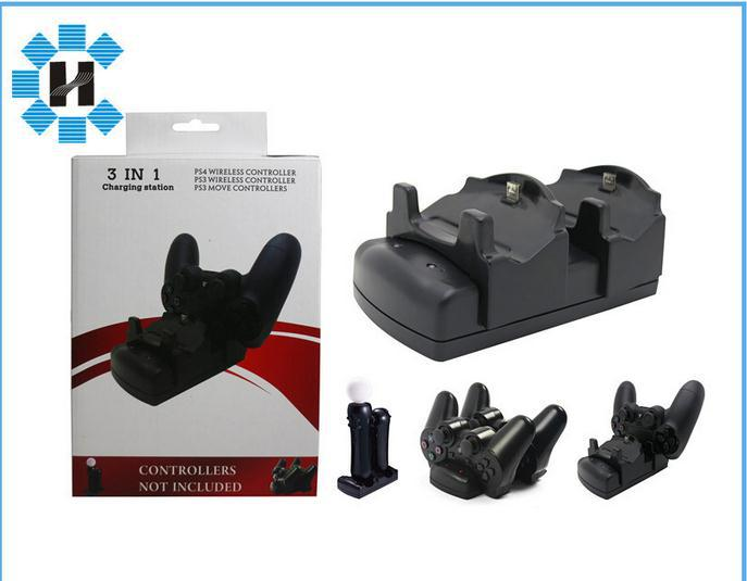 3 in 1charge station for PS3 MOVE PS4