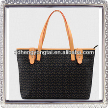 new design pu leather bags ladies casual tote handbags