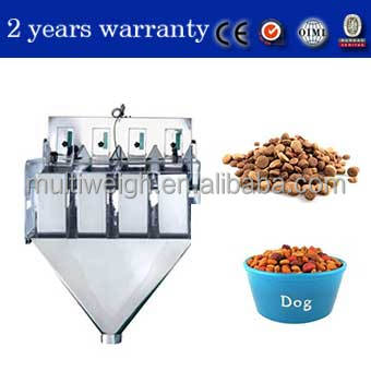 Propack China products of linear weigher for dog food