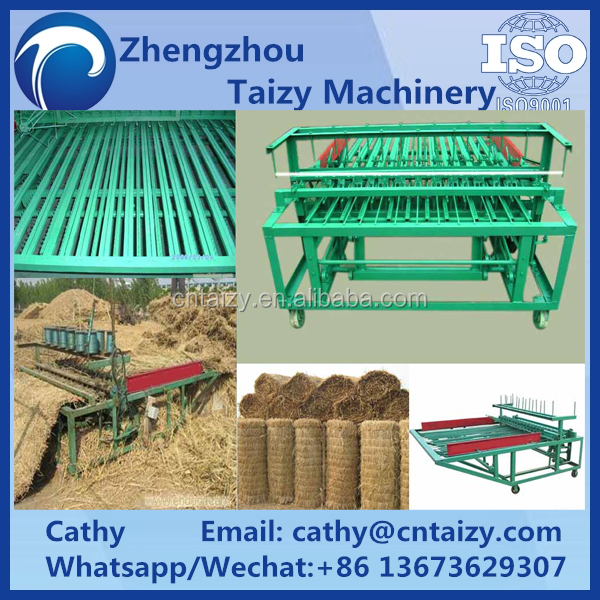 straw reed grass mat knitting machine on sale Agricultural recycling straw mat weaving machine Reed mat knitting machine