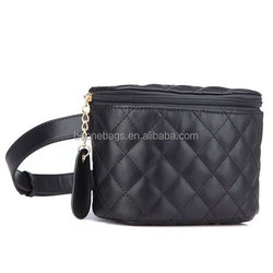 Women's Fashion Quilted Leather Waist Packs Fanny Pack