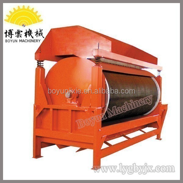 High Gradient Rotary Drum Dry Magnetic Separator Machine Being Used for Iran Iron Ore
