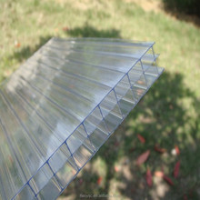 PC sun Sheets Type Triple Wall Polycarbonate Hollow Sheet