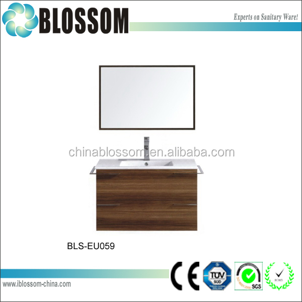 commercial slim bathroom cabinets set MDF bathroom vanity designs