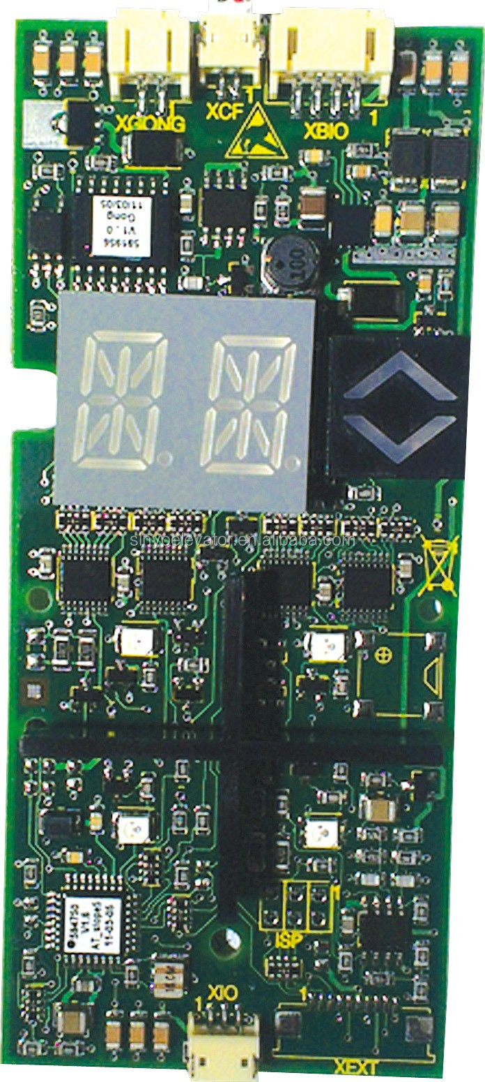 Schindler Elevator PC Board 590769