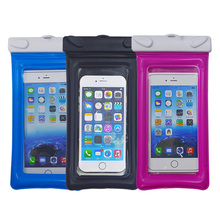 hot selling ipx8 clear plastic waterproof mobile phone pouch for smart phone iphone 6