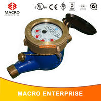multi-jet rotary vane wheel vertical type cold water meter