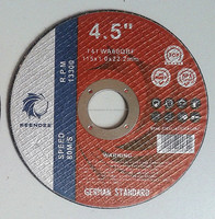 "4.5"" 115X1X22.2mm Thin Cutting Wheels / Discs for Stainless steel, INOX, Metal"