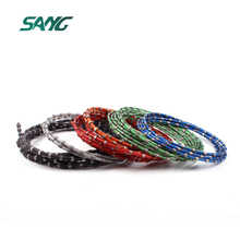 SANG 11.5mm diamond cutting rope,cutting wire,diamond wire saw for granite