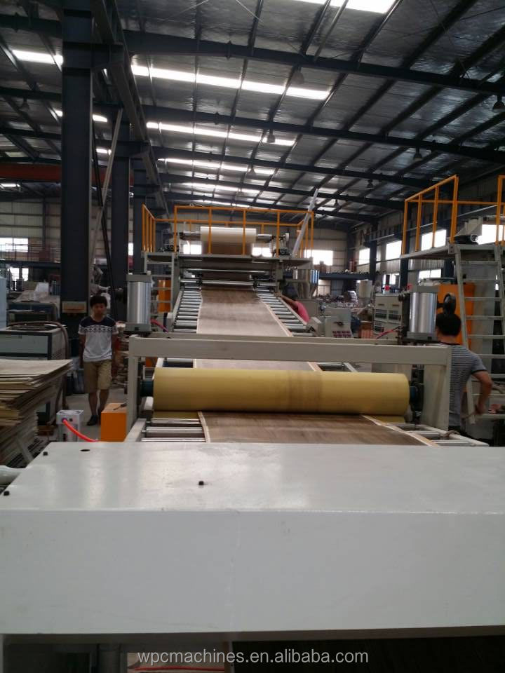 PVC Flooring Extrusion Production Line