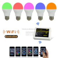 Mi-Light 2.4G E27 6W RGBW 4-Zone Wireless RF Remote WIFI Controller Bulb Light