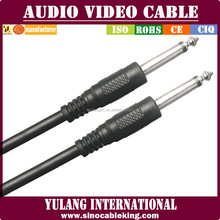 Xlr Cable 6.35 To 6.35 Cable in black color