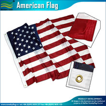 Wholesale custom 3x5 polyester american flag