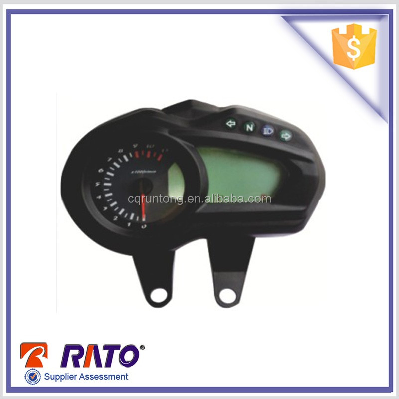 hot sale waterproof rpm digital meter for motorcycle