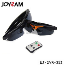 Sunglasses with Camera Video Recording Polarized Glasses HD 720P Wearable Sports Action Camcorder with Remote Control