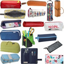 China supplier best quality canvas school smiggle pencil case
