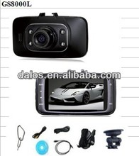 top quality car dvr HD gs 8000l 4IR Night Vision with G-sensor