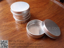 Small sample 10g aluminum body cream container with China Factory Price