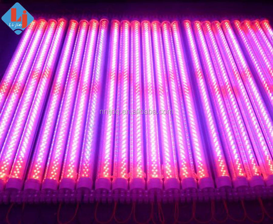 t8 led grow light for commercial grow, greenhouse project, warehouse, hydroponic system/medical plants grow tube t8