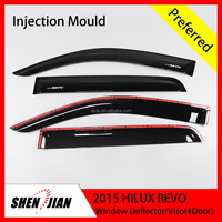 AUTO PERFORMANCE CAR PARTS SUN VISOR DEFLECTOR TOYOTA 2015 HILUX REVO WINDOW SUN VISOR PMMA QUALITY MATERIAL