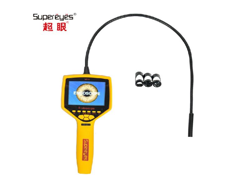 "50X zooming 1M snake tube mini 9mm Digital Flexible Inspection Camera borescope endoscopy price with 3.5"" LCD screen monitor"