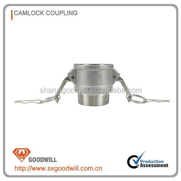 camlock female threaded adapter